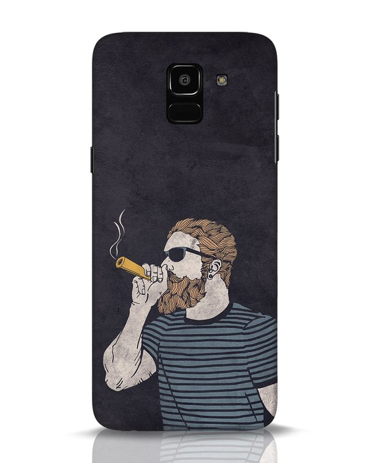 Shop High Dude Samsung Galaxy J6 Mobile Cover-Front