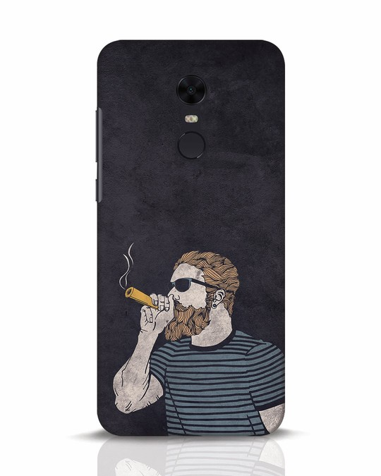Shop High Dude Xiaomi Redmi Note 5 Mobile Cover-Front