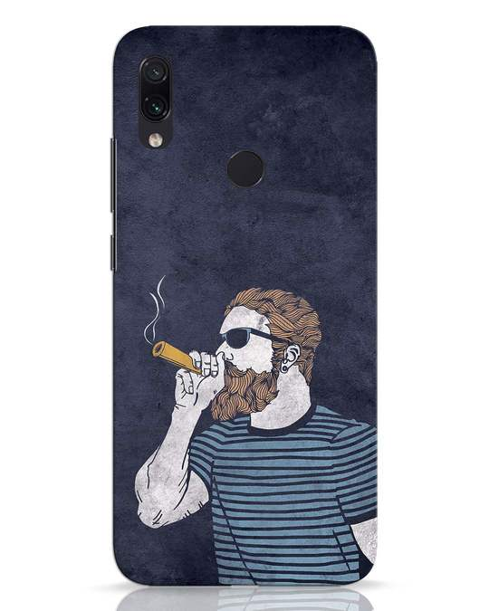Shop High Dude Xiaomi Redmi Note 7 Pro Mobile Cover-Front