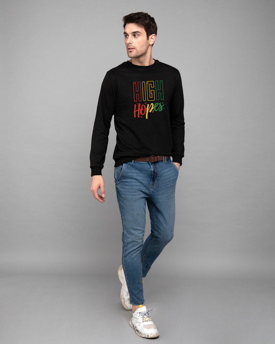 Shop High Hopes Fleece Light Sweatshirt-Design