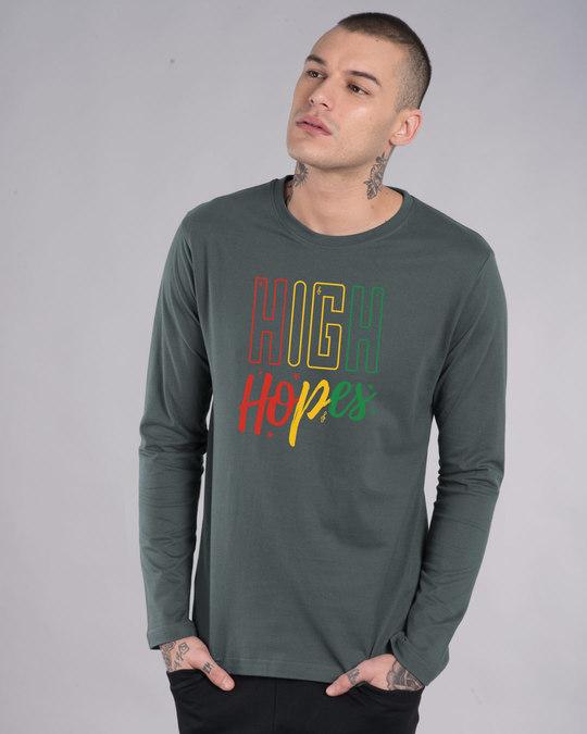 Shop High Hopes Full Sleeve T-Shirt-Front