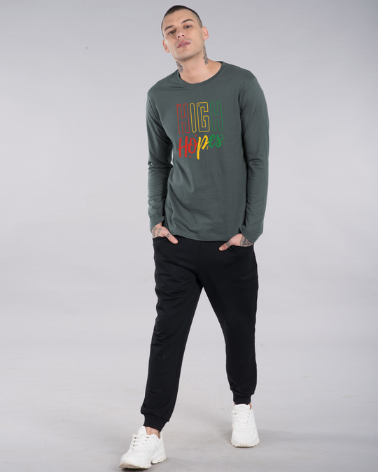 Shop High Hopes Full Sleeve T-Shirt-Design