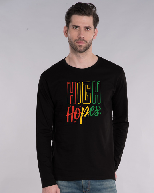 Shop High Hopes Full Sleeve T-Shirt-Front