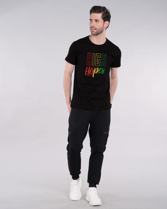 Shop High Hopes Half Sleeve T-Shirt-Design