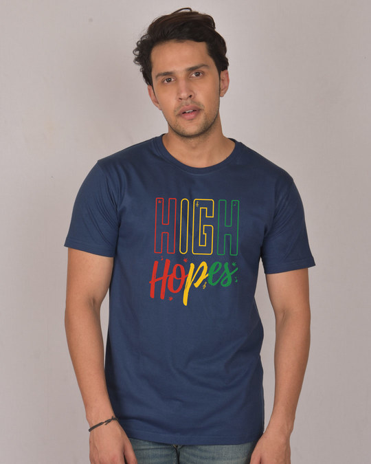 Shop High Hopes Half Sleeve T-Shirt-Front
