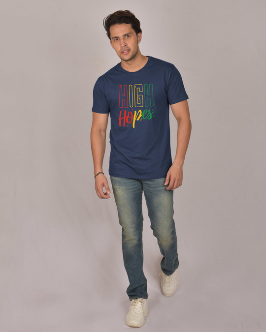 Shop High Hopes Half Sleeve T-Shirt-Design
