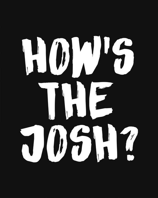Shop High Josh Basic Round Hem T-Shirt