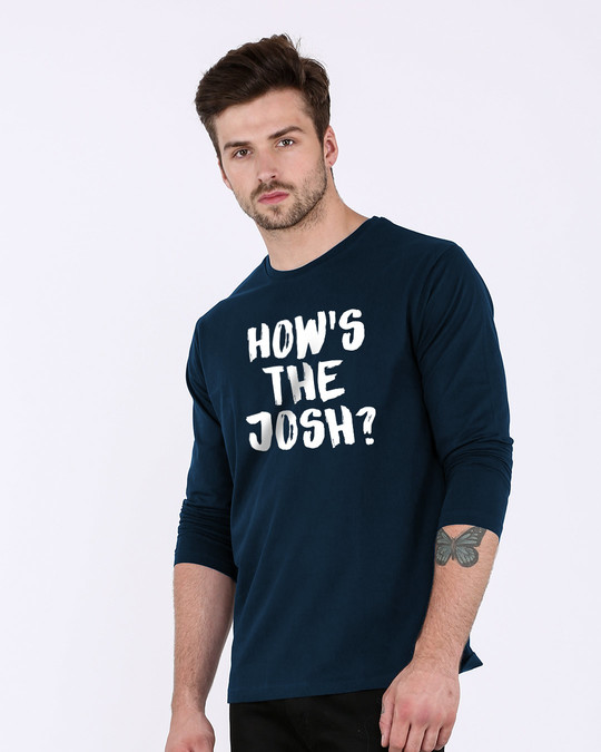 Shop High Josh Full Sleeve T-Shirt-Back