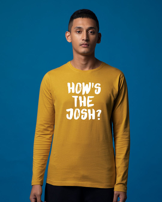 Shop High Josh Full Sleeve T-Shirt-Front