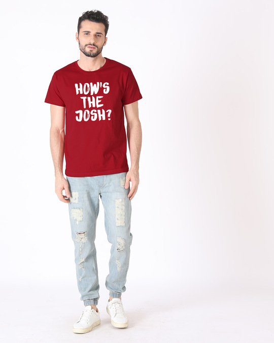 Shop High Josh Half Sleeve T-Shirt