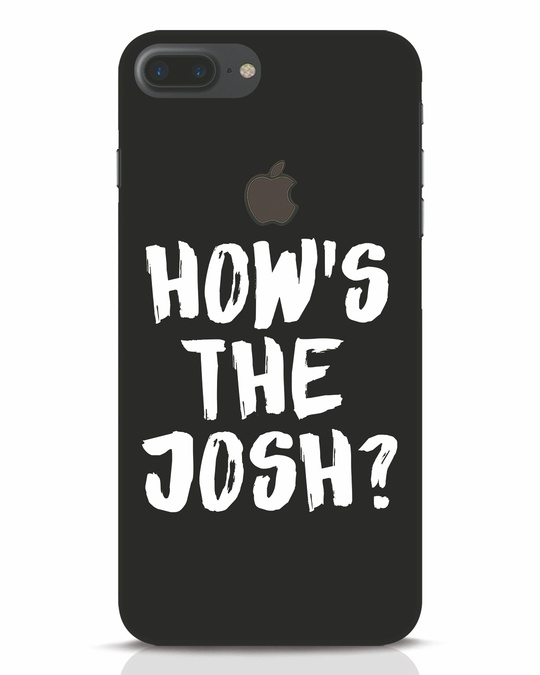 Shop High Josh iPhone 7 Plus Logo Cut Mobile Cover-Front