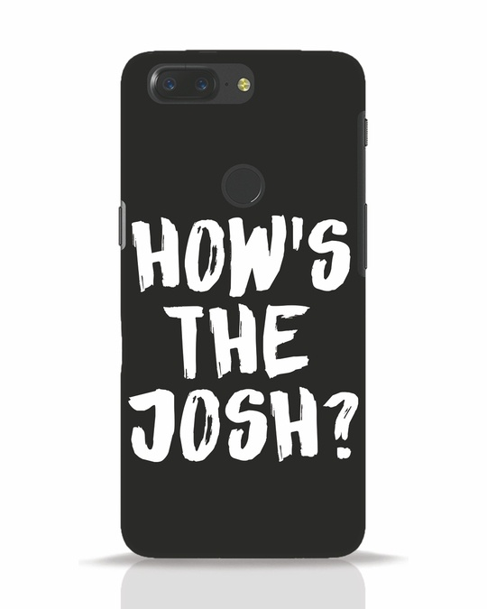 Shop High Josh OnePlus 5T Mobile Cover-Front