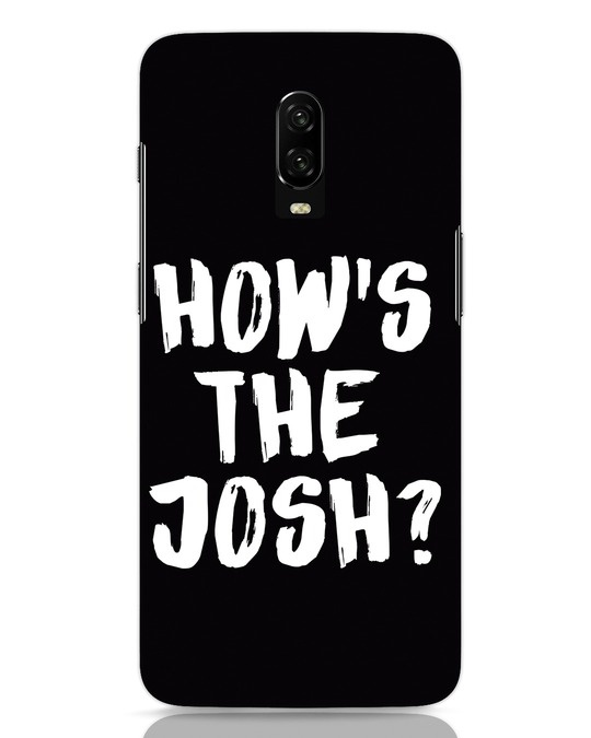 Shop High Josh OnePlus 6T Mobile Cover-Front