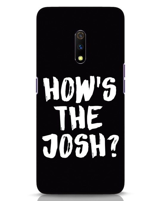 Shop High Josh Realme X Mobile Cover-Front