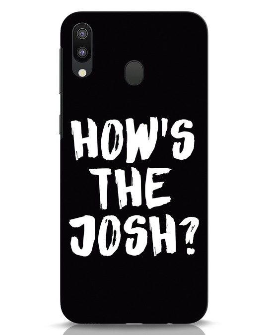 Shop High Josh Samsung Galaxy M20 Mobile Cover-Front