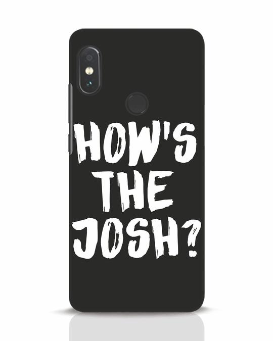 Shop High Josh Xiaomi Redmi Note 5 Pro Mobile Cover-Front