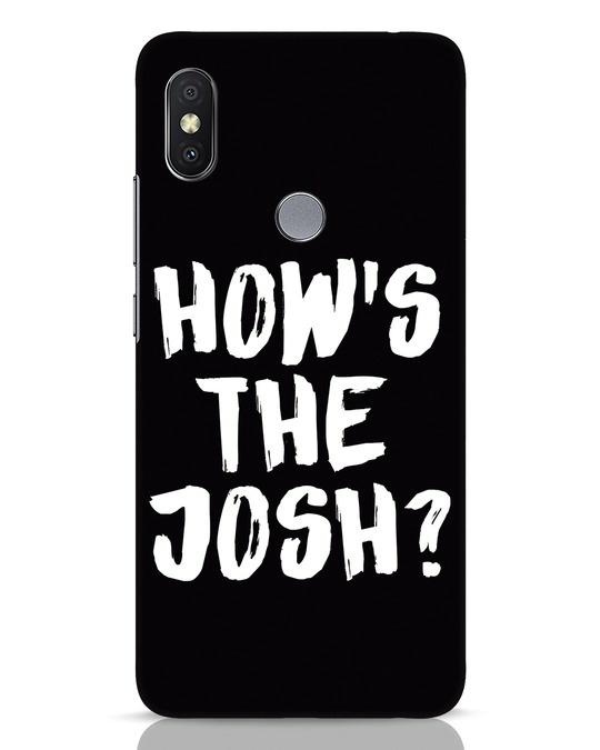 Shop High Josh Xiaomi Redmi Y2 Mobile Cover-Front