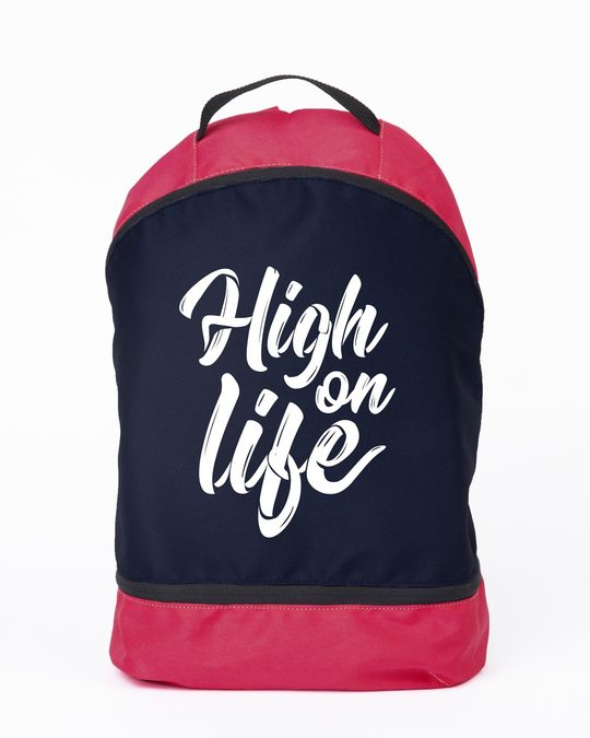 Shop High On Life Essential Mini Backpack-Front