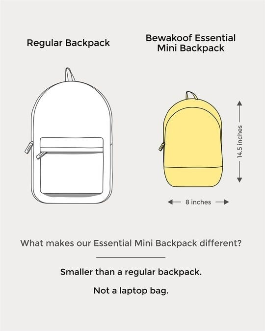 Shop High On Life Essential Mini Backpack