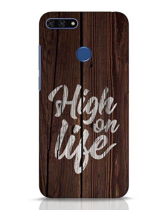 Shop High On Life Huawei Honor 7A Mobile Cover-Front