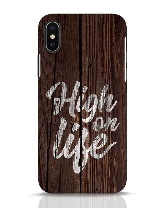 Shop High On Life iPhone X Mobile Cover-Front