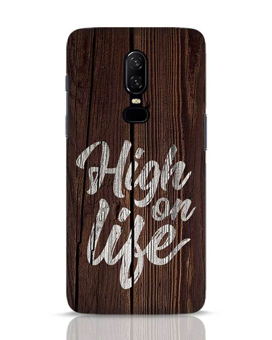Shop High On Life OnePlus 6 Mobile Cover-Front