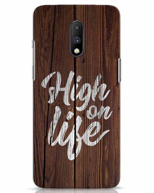 Shop High On Life OnePlus 7 Mobile Cover-Front