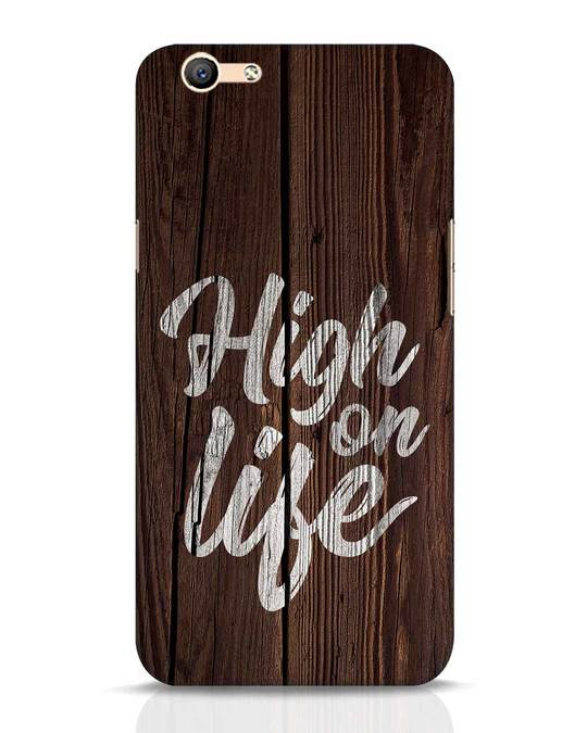 Shop High On Life Oppo F1s Mobile Cover-Front