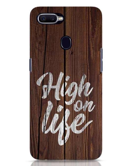 Shop High On Life Oppo F9 Pro Mobile Cover-Front