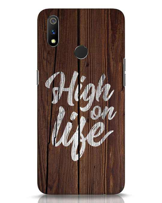 Shop High On Life Realme 3 Pro Mobile Cover-Front