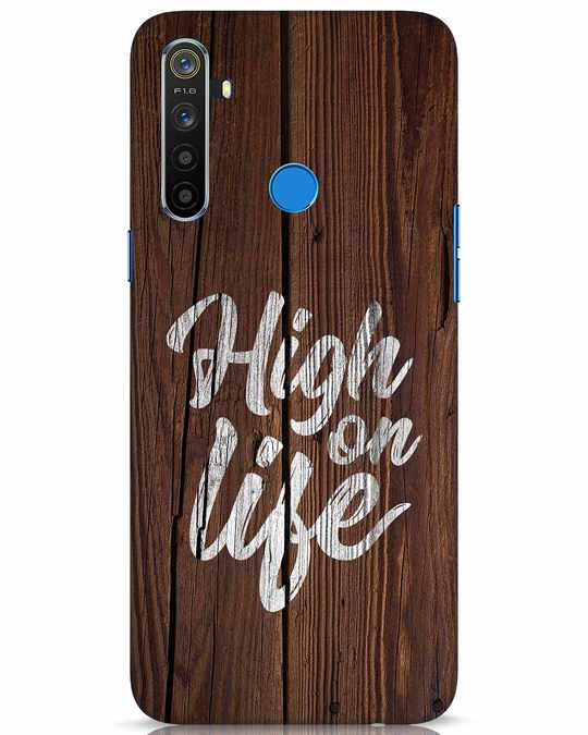 Shop High On Life Realme 5 Mobile Cover-Front