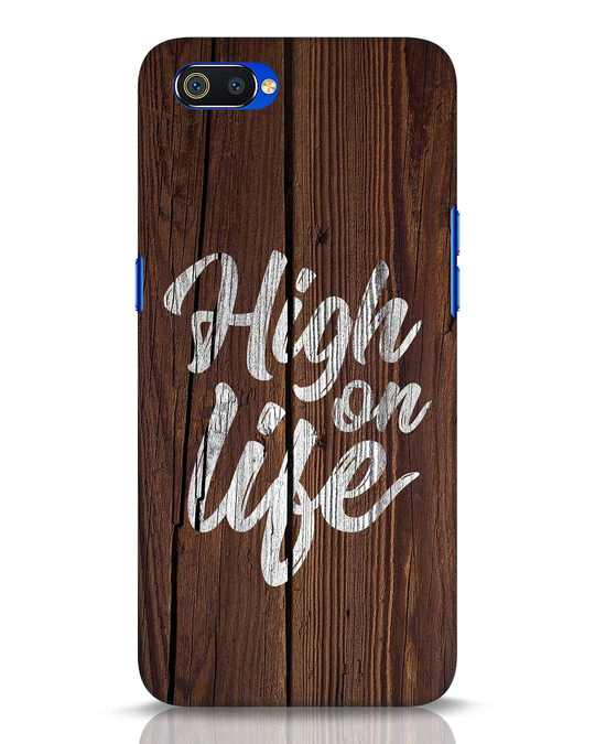 Shop High On Life Realme C2 Mobile Cover-Front