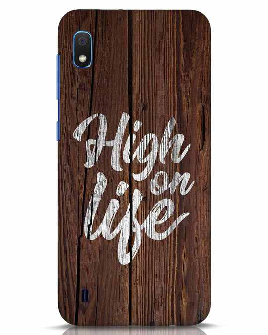 Shop High On Life Samsung Galaxy A10 Mobile Cover-Front