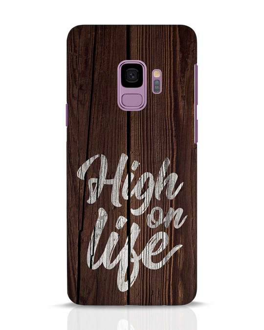 Shop High On Life Samsung Galaxy S9 Mobile Cover-Front