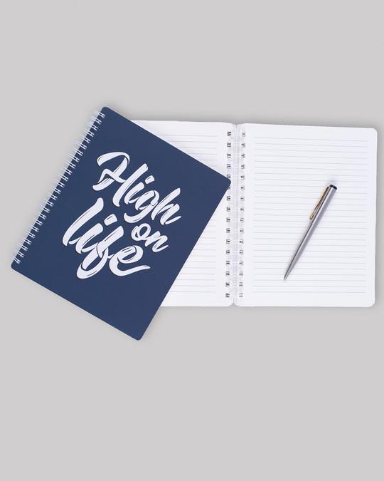 Shop High On Life Spiral Notebook-Back