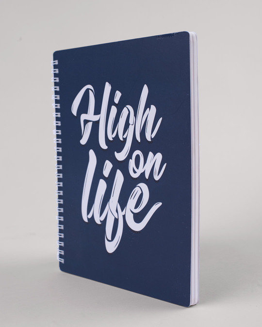 Shop High On Life Spiral Notebook-Full