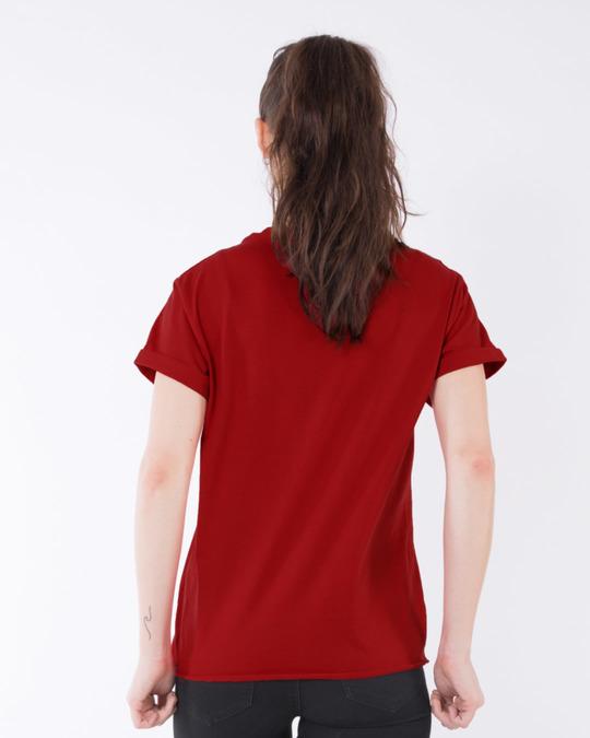 Shop High On Life Typography Boyfriend T-Shirt-Full