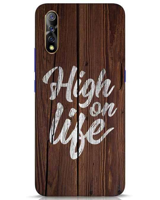 Shop High On Life Vivo S1 Mobile Cover-Front
