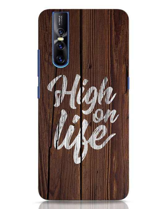 Shop High On Life Vivo V15 Pro Mobile Cover-Front