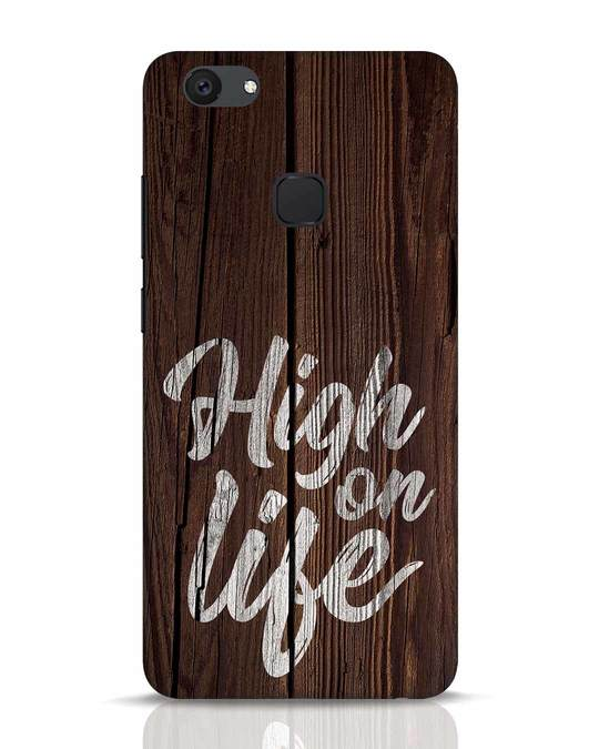 Shop High On Life Vivo V7 Plus Mobile Cover-Front