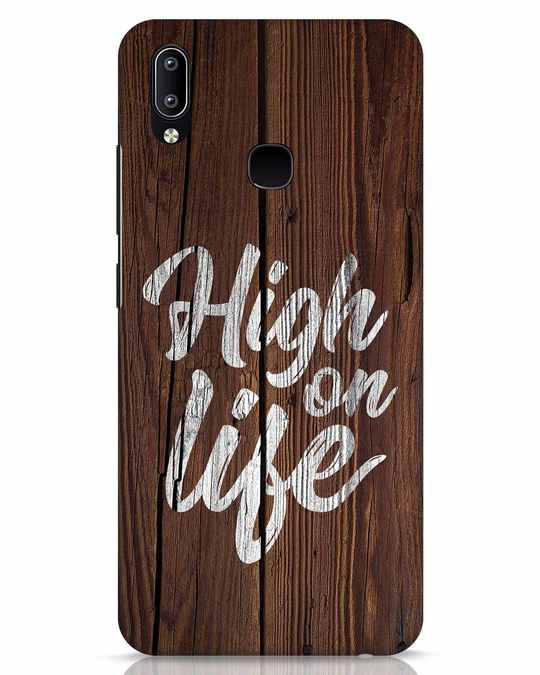 Shop High On Life Vivo Y91 Mobile Cover-Front