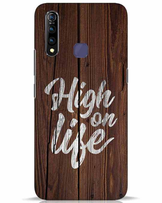Shop High On Life Vivo Z1 Pro Mobile Cover-Front