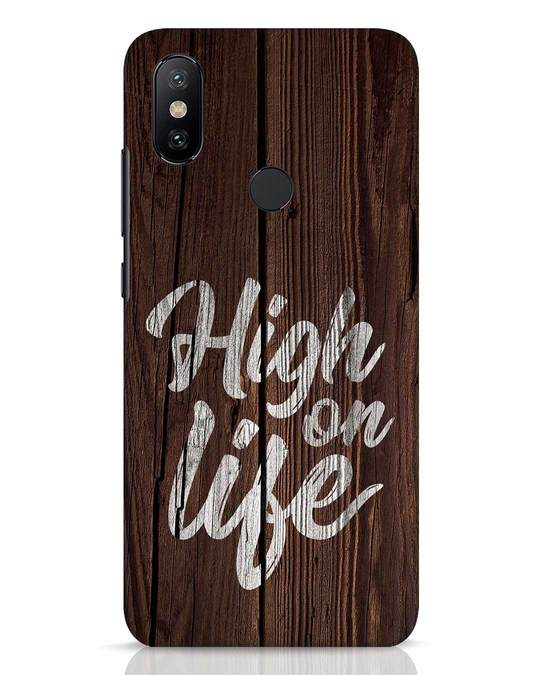 Shop High On Life Xiaomi Mi A2 Mobile Cover-Front