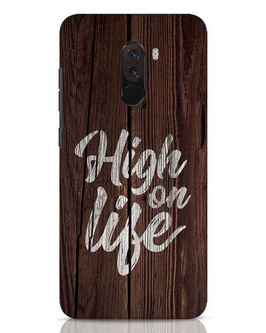Shop High On Life Xiaomi POCO F1 Mobile Cover-Front