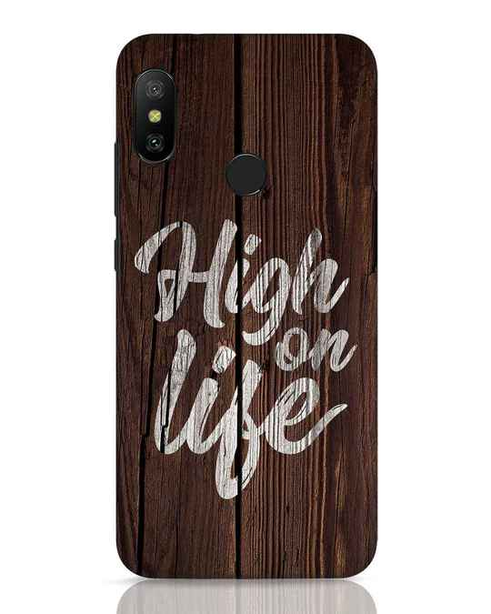 Shop High On Life Xiaomi Redmi 6 Pro Mobile Cover-Front