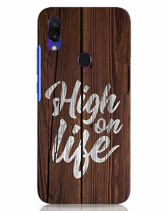 Shop High On Life Xiaomi Redmi 7 Mobile Cover-Front