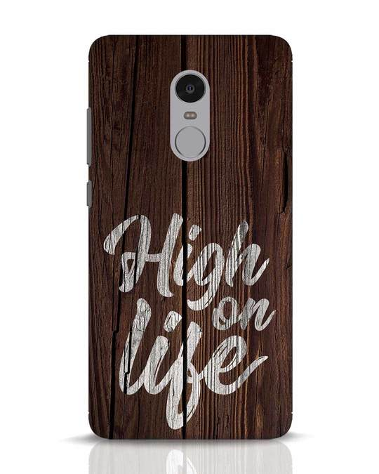 Shop High On Life Xiaomi Redmi Note 4 Mobile Cover-Front