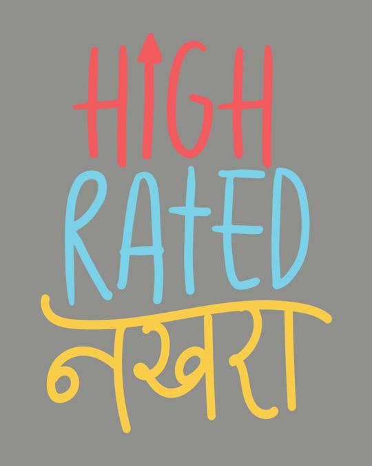 Shop High Rated Nakhra Scoop Neck Full Sleeve T-Shirt-Full