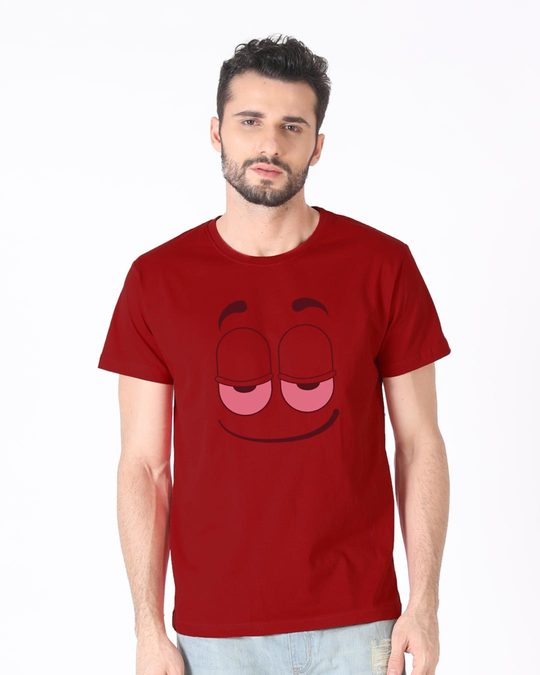 Shop High Smile Half Sleeve T-Shirt-Back
