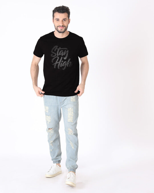 Shop High Stay Half Sleeve T-Shirt